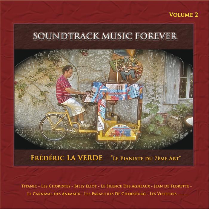 """""""LES PLUS BELLES MUSIQUES DE FILMS"""" (Volume 2) CD album - Le Piano Rouge"""
