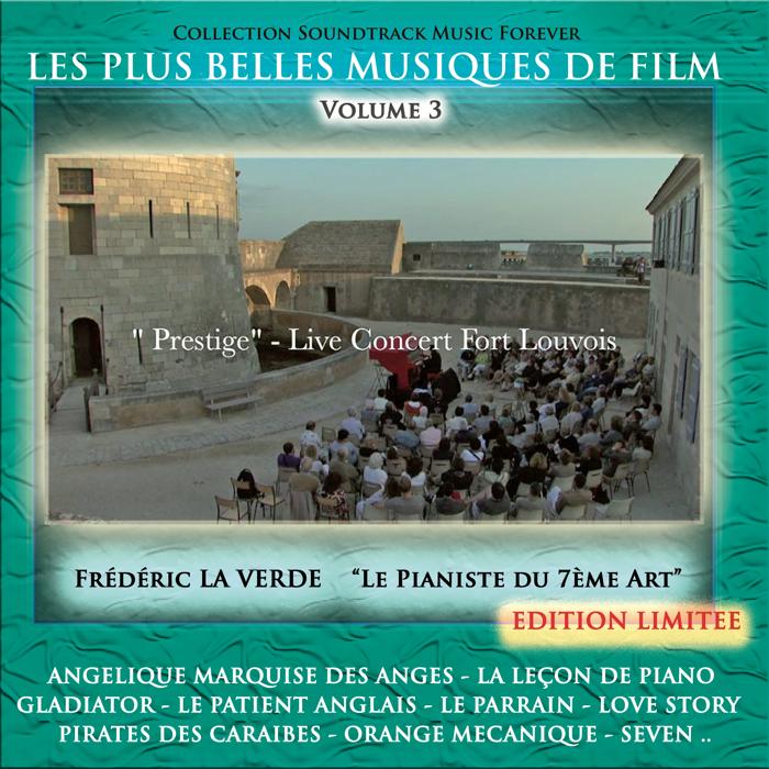 """""""LES PLUS BELLES MUSIQUES DE FILMS"""" (Volume 3)  CD album - Le Piano Rouge"""
