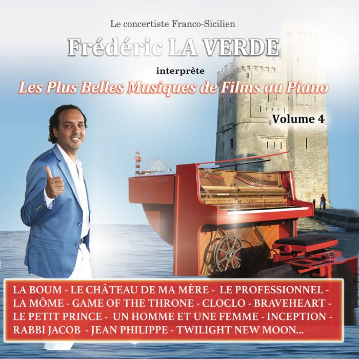 """""""LES PLUS BELLES MUSIQUES DE FILMS"""" (Volume 4) CD album - Le Piano Rouge"""