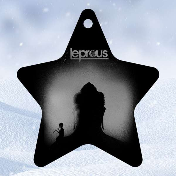 Leprous - 'Star' Wooden Christmas Decoration - Leprous US