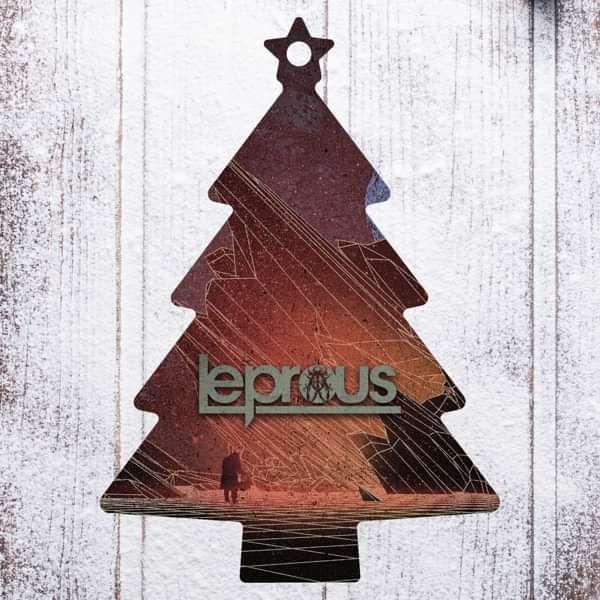 Leprous - 'Tree' Wooden Christmas Decoration - Leprous US