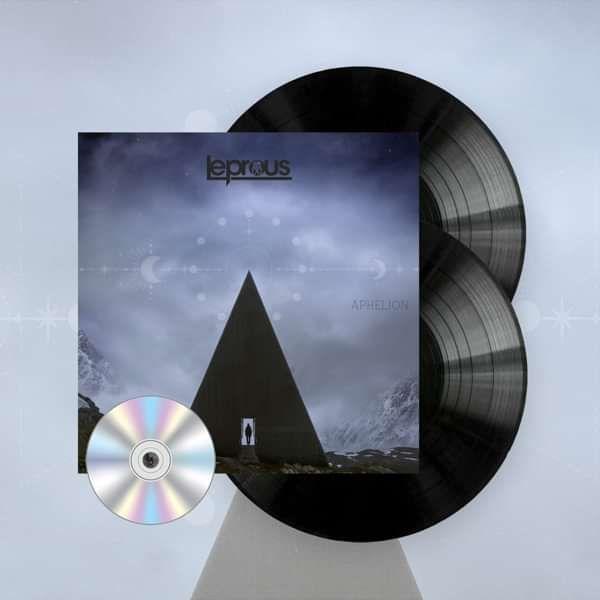 Leprous - 'Aphelion' Gatefold Black 2LP+CD - Leprous