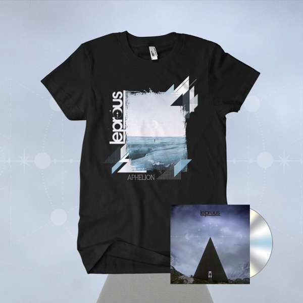 Leprous - 'Aphelion' Ltd. CD Mediabook & T-Shirt Bundle - Leprous