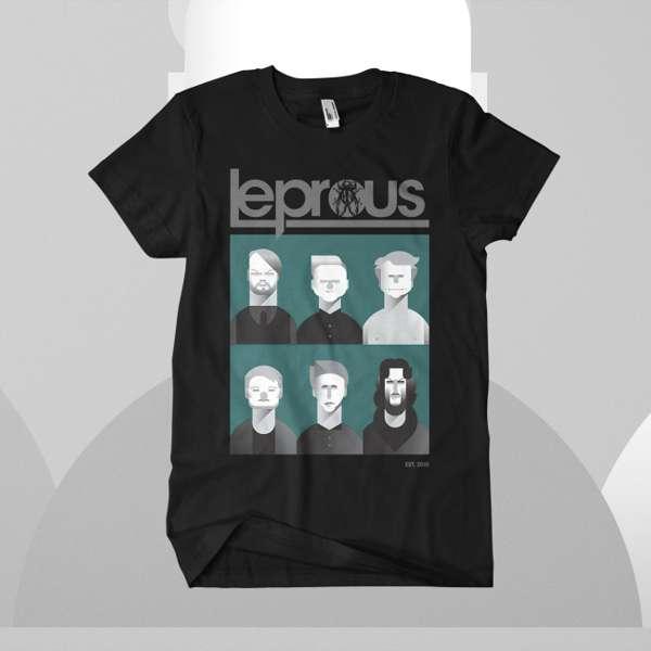 Leprous - 'Caricature' T-Shirt - Leprous