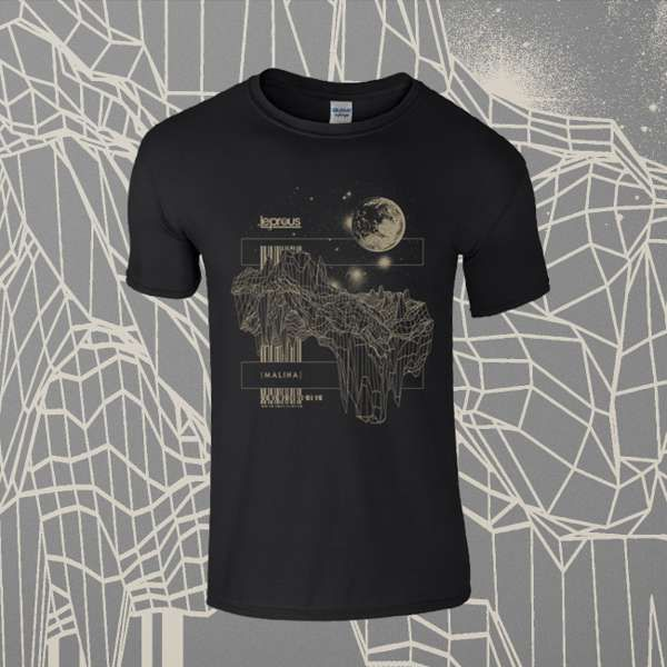 Leprous - 'Floating' Black T-Shirt - Leprous