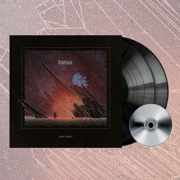 Leprous - 'Malina' Black 2LP+CD - Leprous