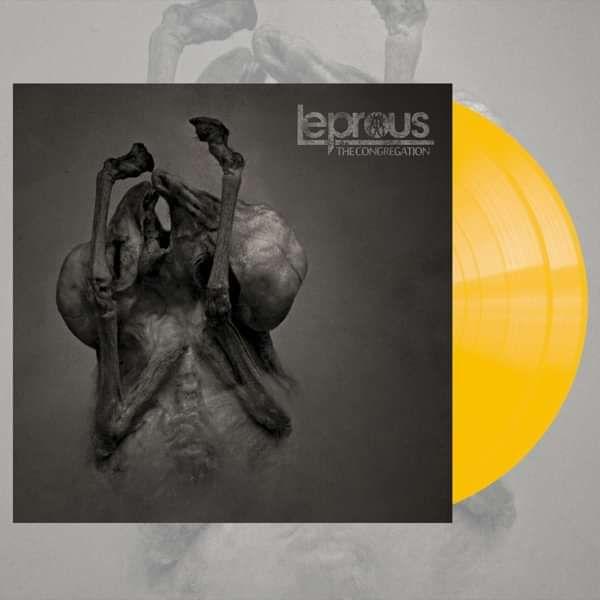 Leprous - 'The Congregation' EXCLUSIVE Ltd. Ed. Transparent Yellow 2LP+CD - Leprous