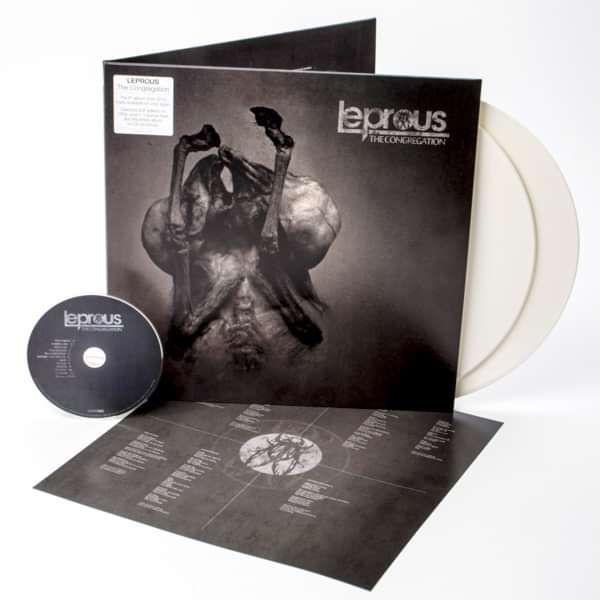 Leprous - 'The Congregation' Ltd. Ed. White 2LP+CD - Leprous