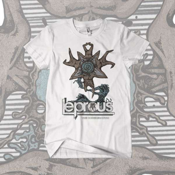 Leprous - 'The Congregation' White T-Shirt - Leprous