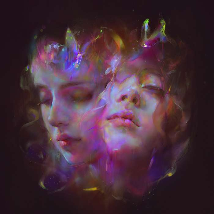 I'm All Ears - TRANSLUCENT PURPLE MARBLE 2LP - Let's Eat Grandma