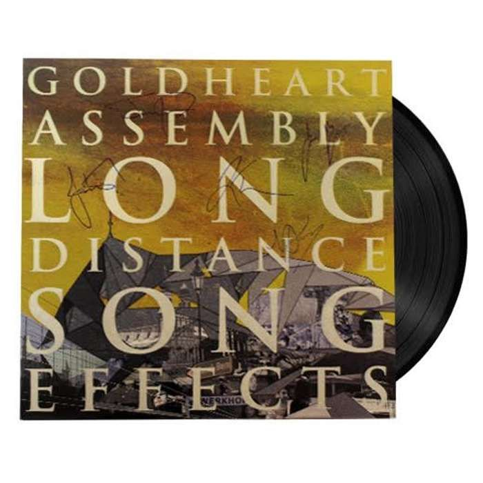 Goldheart Assembly Long Distance Song Effects SIGNED (Vinyl) - LGM Records