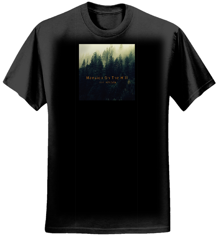 Mansion On The Hill T-shirt (Earth Positive) - Liam Jordan