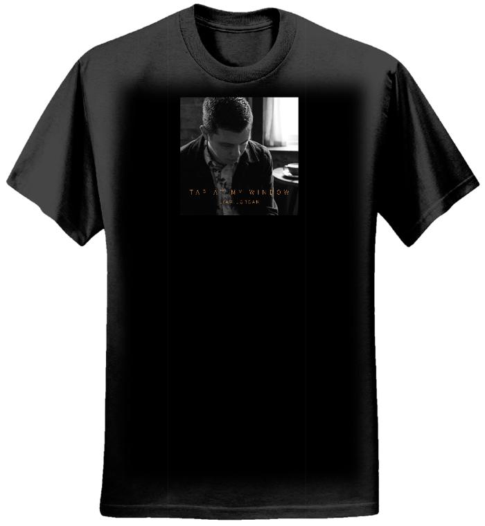 Tap At My Window T-shirt (Earth Positive) - Liam Jordan