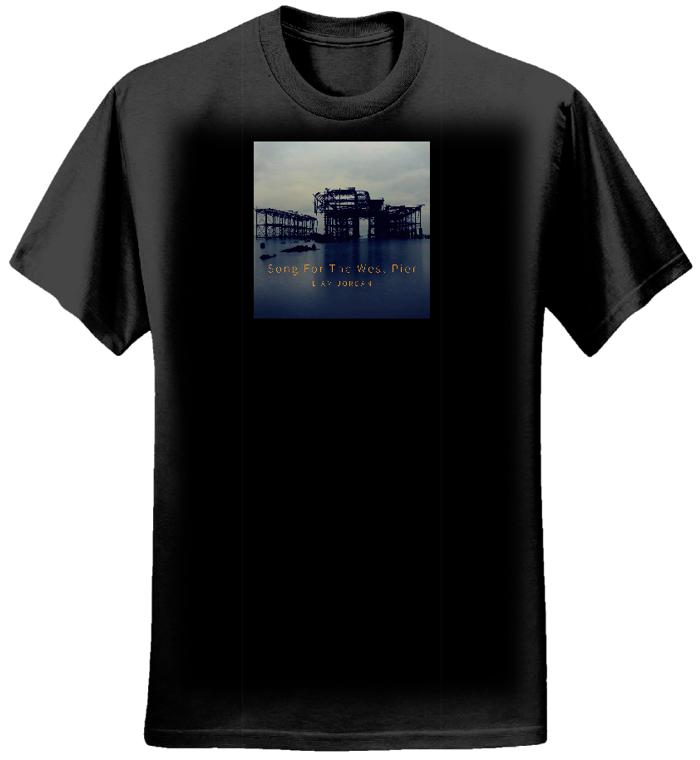 West Pier T-shirt (Earth Positive) - Liam Jordan