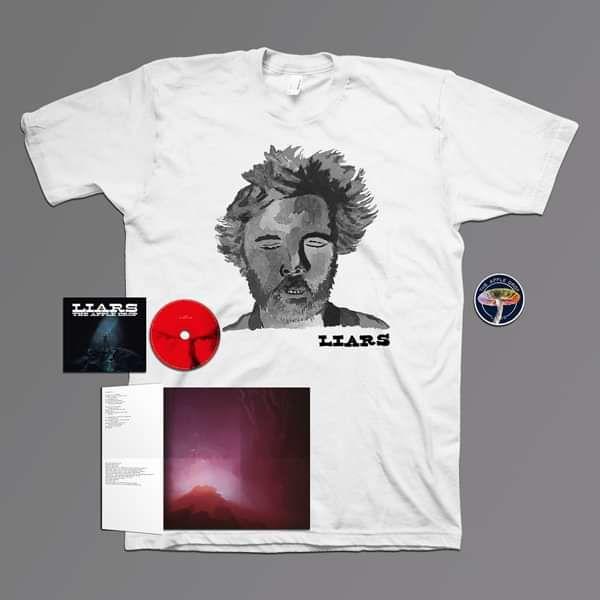 Liars - The Apple Drop - Tshirt, Patch & CD Bundle - Liars