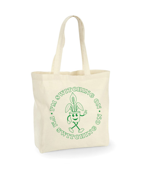PEACE LILY TOTE - LIFE