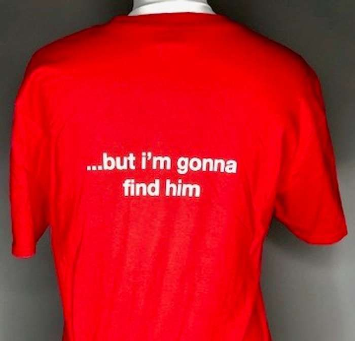 I don't know where he can be (Red) Affection tour T-Shirt - Lisa Stansfield