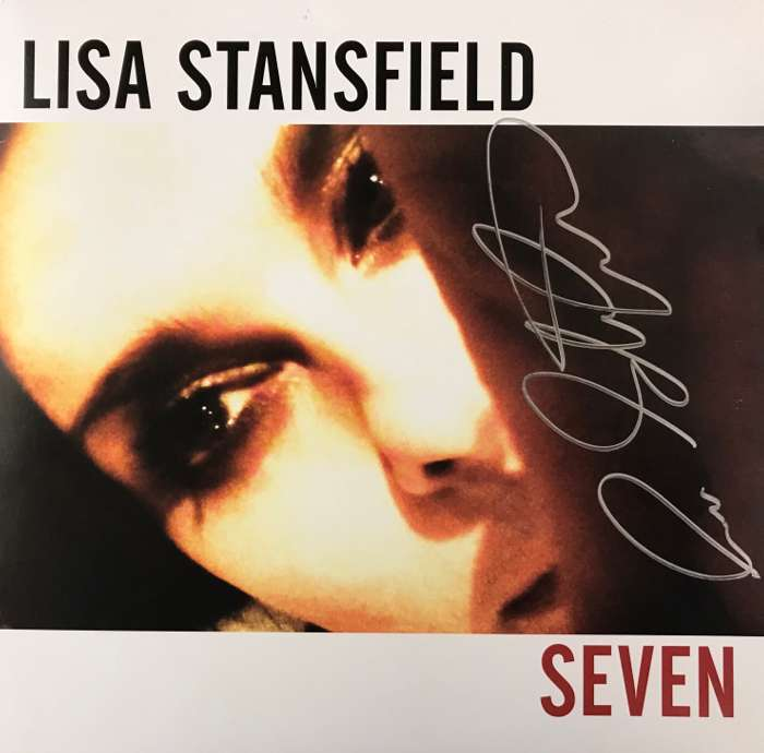 Seven vinyl LP (Signed by Lisa) - Lisa Stansfield