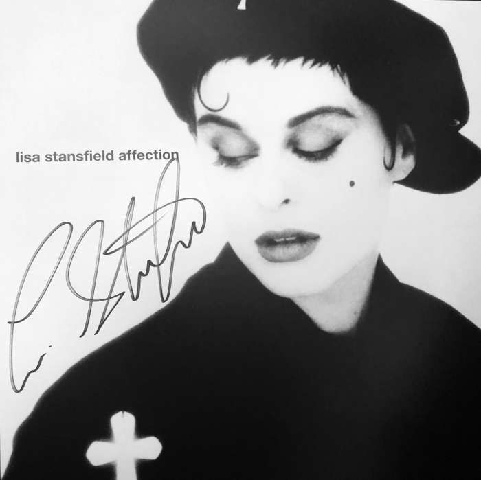 Signed by Lisa - Reissue Affection Limited edition heavyweight 2LP (Gatefold) with bonus tracks - Lisa Stansfield