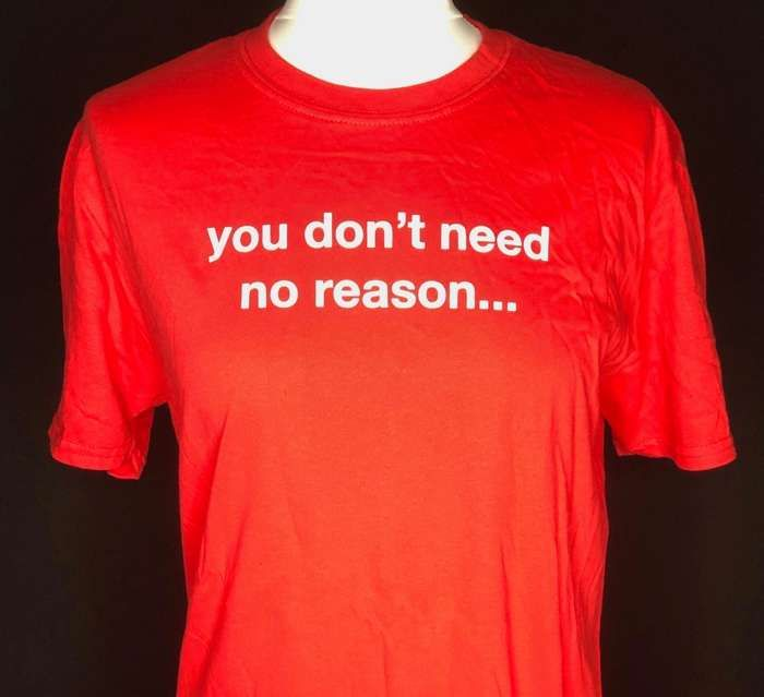You don't need no reason (red) Affection tour T-shirt - Lisa Stansfield