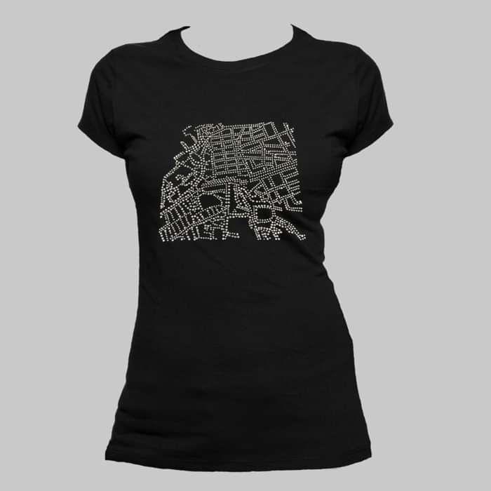 """Passenger"" Jewel Ladies T-shirt - Lisa Hannigan"