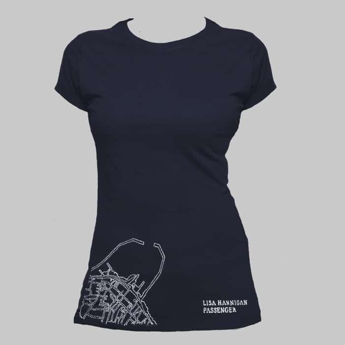 Passenger Navy T-Shirt - Lisa Hannigan