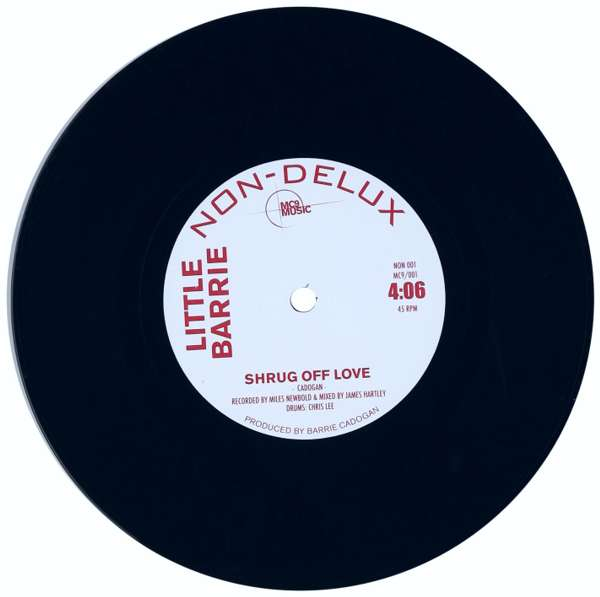 "Shrug Off Love/Reply Me - 7"" single - Little Barrie"