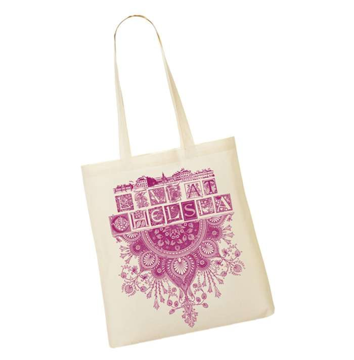 Live At Chelsea Tote Bag - Live At Chelsea