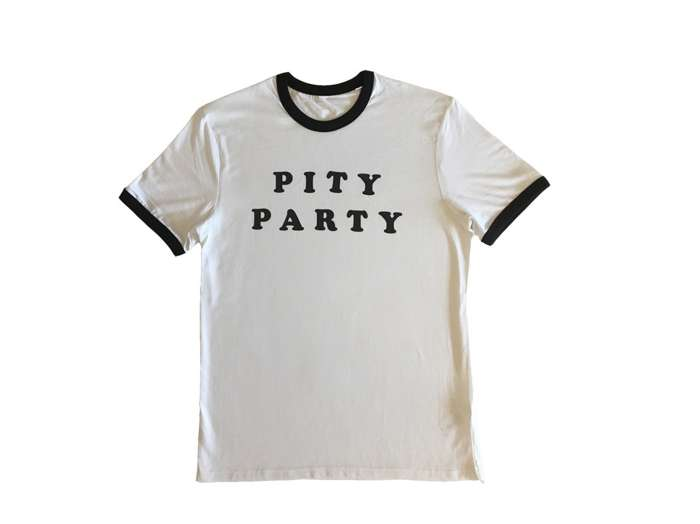 Pity Party tee - Liz Lawrence