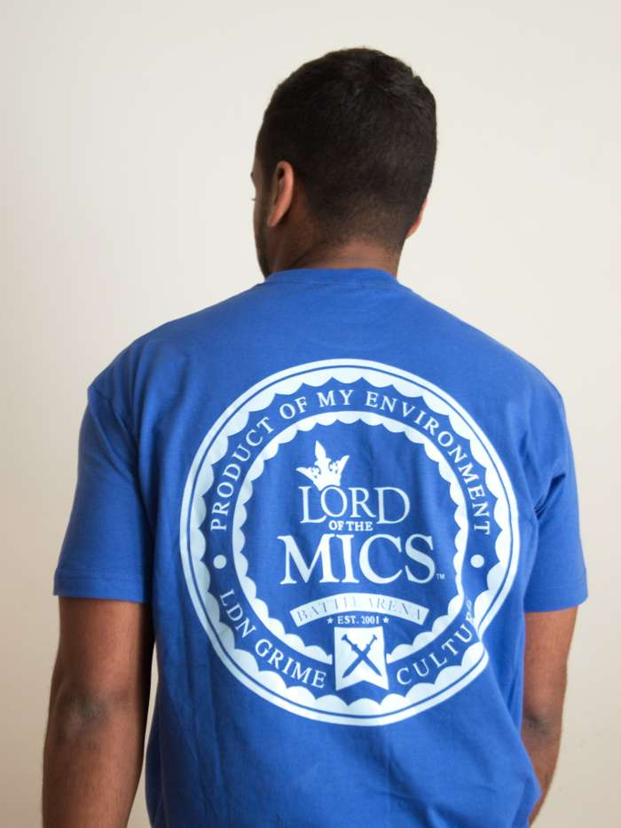 Blue T-shirt - Lord of the Mics