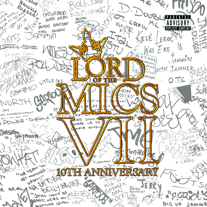 Lord of the Mics 7 (CD/DVD) - Lord of the Mics