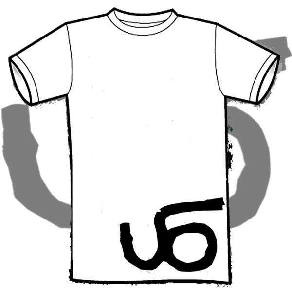 'UFO Logo' White T Shirt - LostAlone