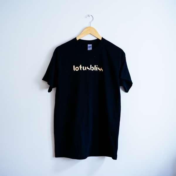 lotusbliss Logo Tee - Black - lotusbliss