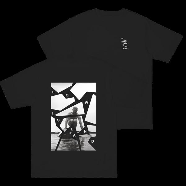 Man On Raft TEE [black/white] - Low Island