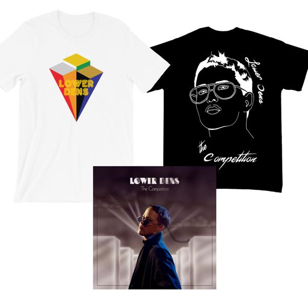 Tee Shirt & LP Bundle - Lower Dens