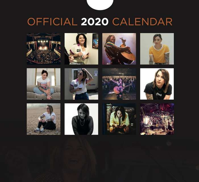Official 2020 Calendar - Lucy Spraggan