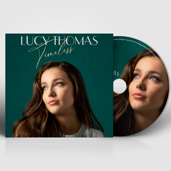 Timeless (Signed CD) - Lucy Thomas