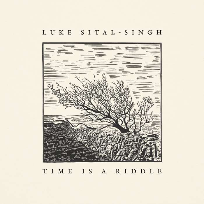 Time Is a Riddle - Signed Original Lino & Letterpress Print - Luke Sital-Singh
