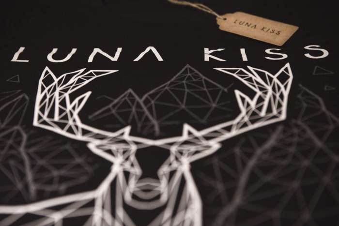 Deer T-shirt/CD bundle - Luna Kiss