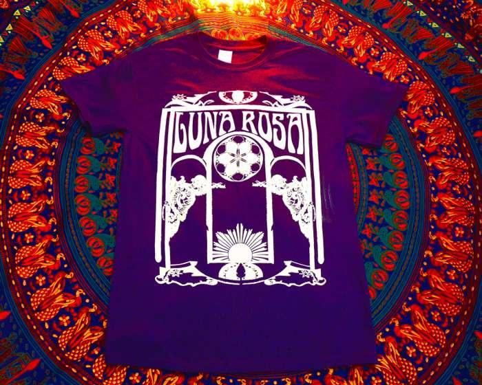 Luna Rosa T-Shirt - PURPLE - Luna Rosa