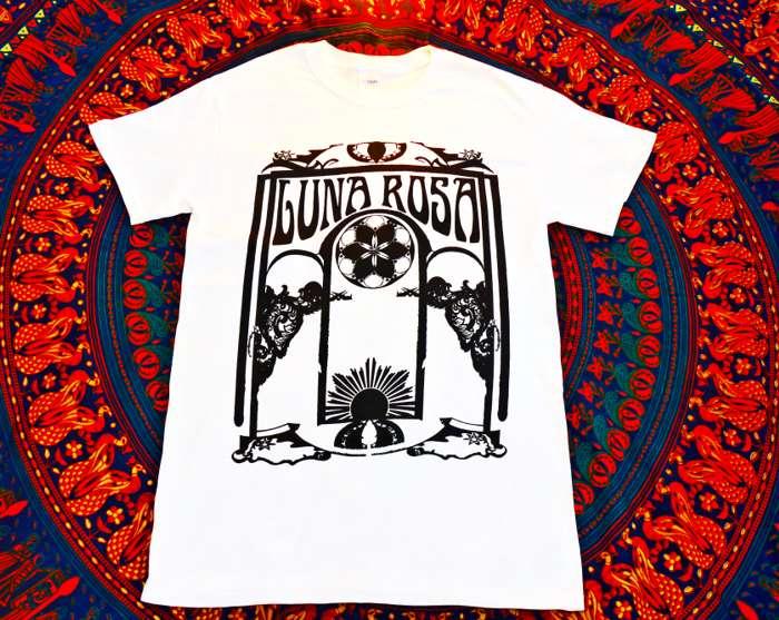 Luna Rosa T-Shirt - White - Luna Rosa