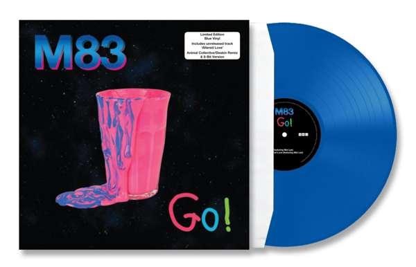 """M83 - Go! 12"""" Blue Vinyl - M83"""