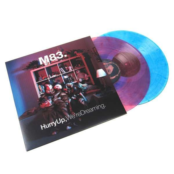 M83 - Hurry Up We're Dreaming Color Vinyl - M83