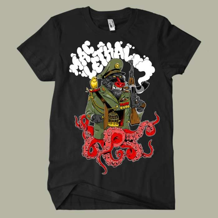 Baboon T-Shirt - Mac Lethal