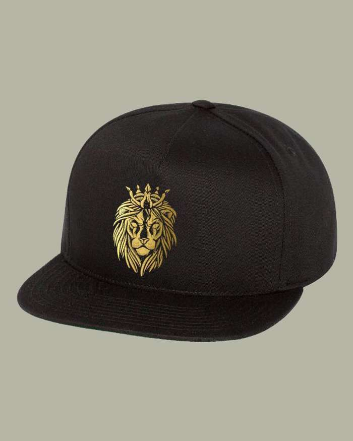 Gold Lion Hat - Mac Lethal