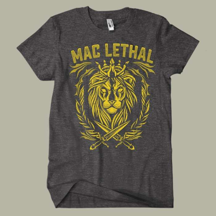Lion Tee - Mac Lethal