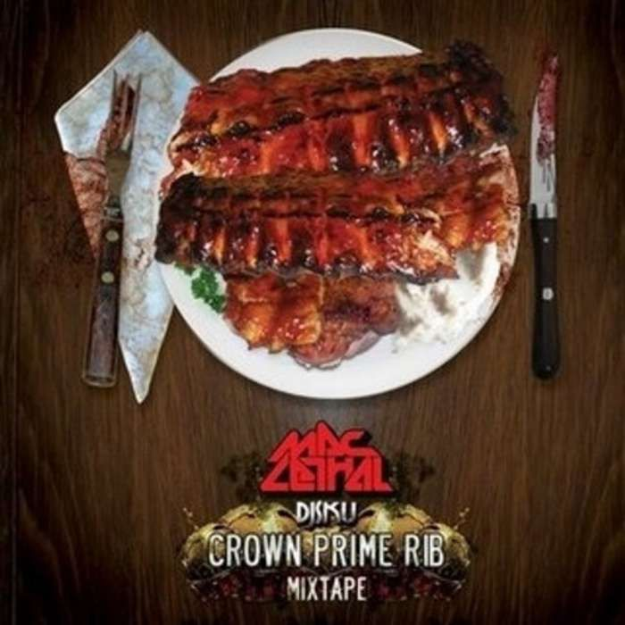 Mac Lethal, DJ SKU - Crown Prime Rib Mixtape CD - Mac Lethal