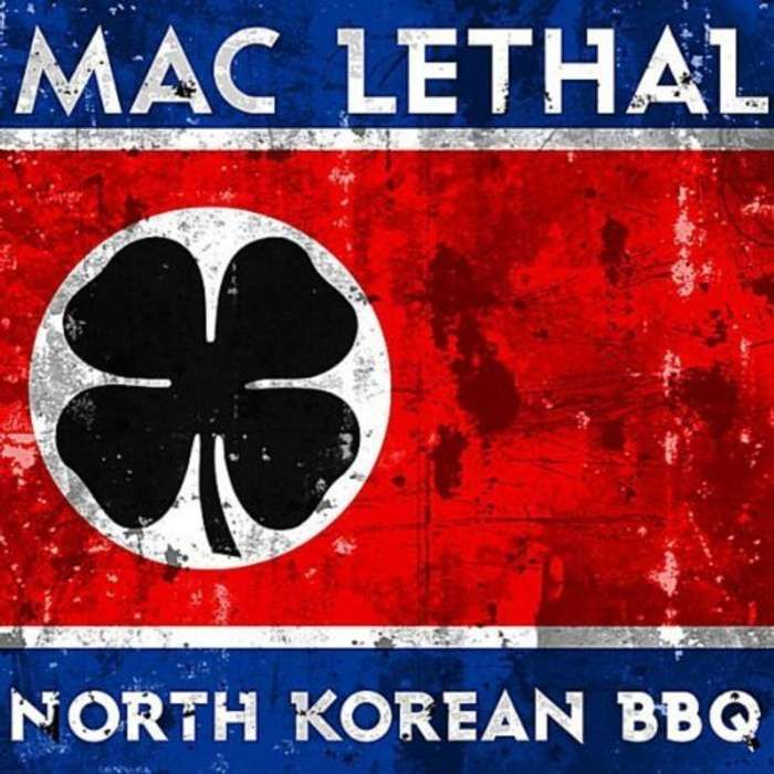 North Korean BBQ CD - Mac Lethal