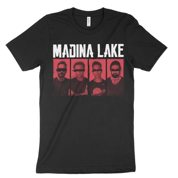 Band - Unisex Black Tee - Madina Lake