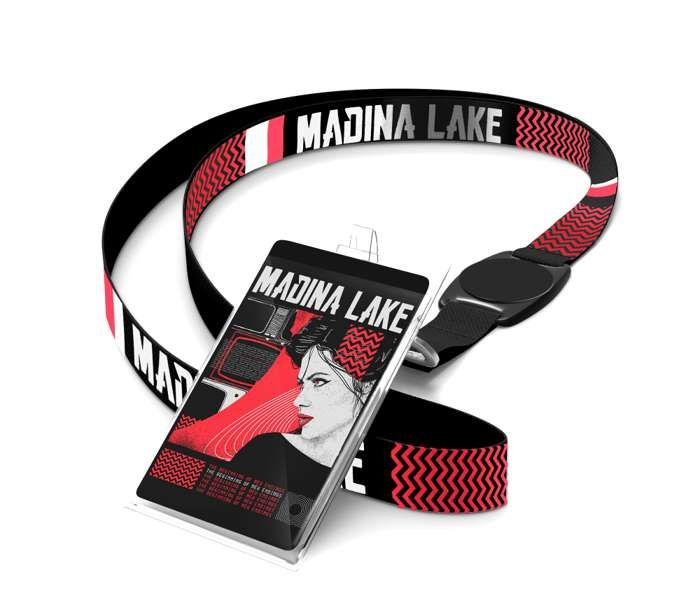 The Beginning - Lanyard & Laminate - Madina Lake